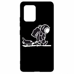 Чохол для Samsung S10 Космонавт