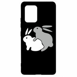 Чохол для Samsung S10 Кролики