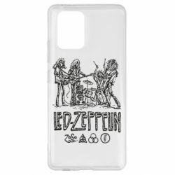 Чехол для Samsung S10 Lite Led-Zeppelin Art