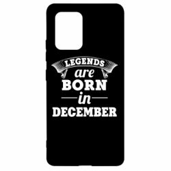 Чехол для Samsung S10 Lite Legends are born in December