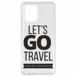 Чохол для Samsung S10 Let's go travel around the world