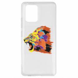 Чехол для Samsung S10 Lite Lion multicolor