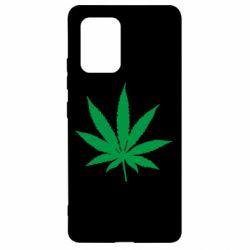 Чохол для Samsung S10 Листочок марихуани
