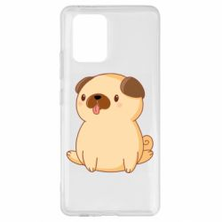Чехол для Samsung S10 Lite Little pug