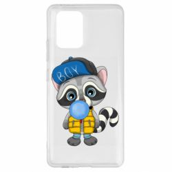 Чехол для Samsung S10 Lite Little raccoon