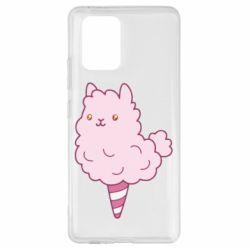 Чехол для Samsung S10 Lite Llama Ice Cream