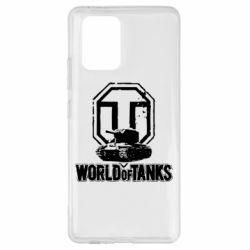 Чехол для Samsung S10 Lite Логотип World Of Tanks