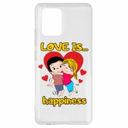 Чохол для Samsung S10 love is...happyness