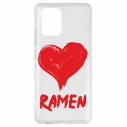 Чохол для Samsung S10 Love ramen