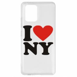 Чохол для Samsung S10 Люблю Нью Йорк