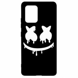 Чехол для Samsung S10 Lite Marshmello and face logo