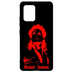 Чехол для Samsung S10 Lite Майкл Джексон