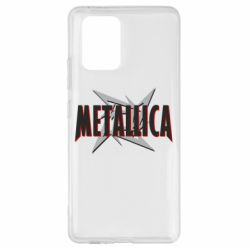 Чохол для Samsung S10 Логотип Metallica