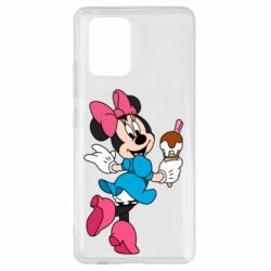 Чехол для Samsung S10 Lite Minnie Mouse and Ice Cream
