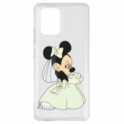 Чехол для Samsung S10 Lite Minnie Mouse Bride