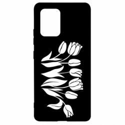 Чохол для Samsung S10 Monochrome tulips