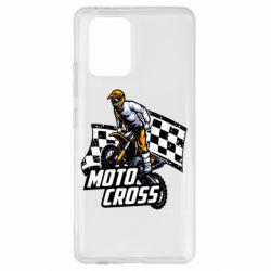 Чехол для Samsung S10 Lite Motocross