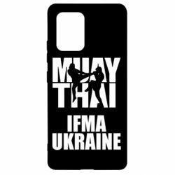 Чехол для Samsung S10 Lite Muay Thai IFMA Ukraine