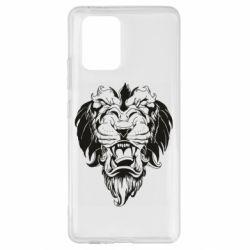 Чехол для Samsung S10 Lite Muzzle of a lion