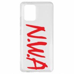 Чехол для Samsung S10 Lite N.W.A Logo