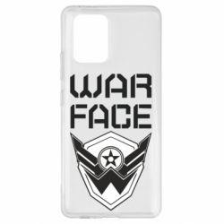 Чохол для Samsung S10 Напис Warface