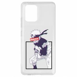Чехол для Samsung S10 Lite Naruto Hokage glitch