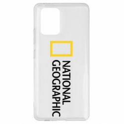 Чехол для Samsung S10 Lite National Geographic logo