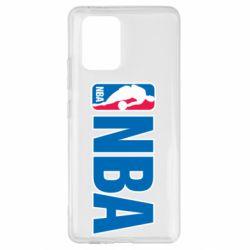 Чехол для Samsung S10 Lite NBA Logo