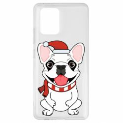 Чехол для Samsung S10 Lite New Year's French Bulldog