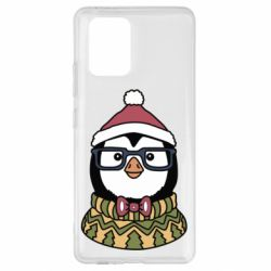 Чехол для Samsung S10 Lite New Year's Penguin