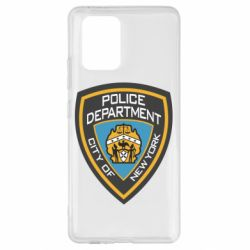 Чехол для Samsung S10 Lite New York Police Department