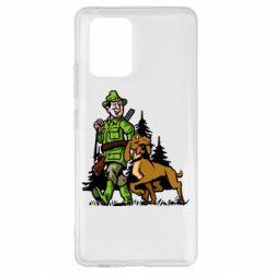 Чохол для Samsung S10 Мисливець з собакою