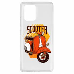 Чохол для Samsung S10 Orange scooter
