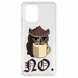 Чехол для Samsung S10 Lite Owl and coffee