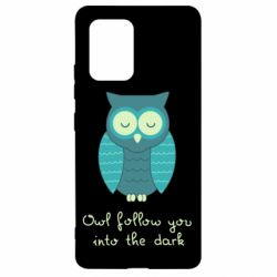 Чехол для Samsung S10 Lite Owl follow you into the dark