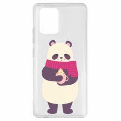 Чехол для Samsung S10 Lite Panda and Cappuccino