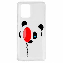 Чехол для Samsung S10 Lite Panda and red balloon