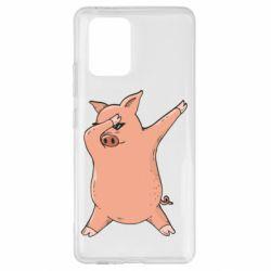 Чохол для Samsung S10 Pig dab