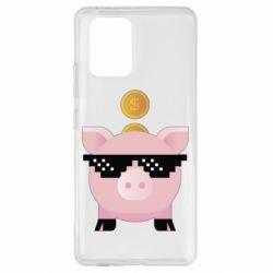 Чохол для Samsung S10 Piggy bank