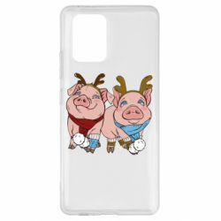 Чохол для Samsung S10 Pigs
