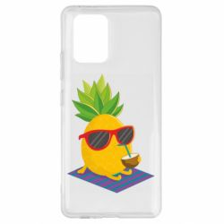 Чехол для Samsung S10 Lite Pineapple with coconut