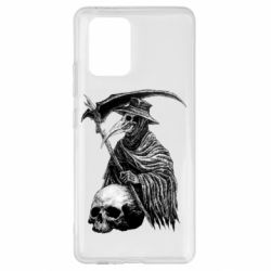 Чехол для Samsung S10 Lite Plague Doctor graphic arts