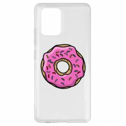 Чехол для Samsung S10 Lite Пончик Гомера