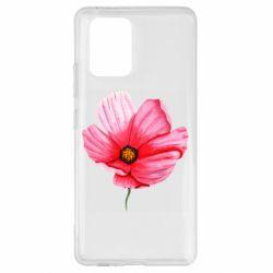 Чехол для Samsung S10 Lite Poppy flower
