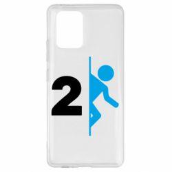Чехол для Samsung S10 Lite Portal 2 logo
