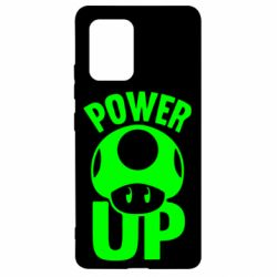 Чехол для Samsung S10 Lite Power Up гриб Марио