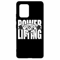 Чохол для Samsung S10 Powerlifting logo