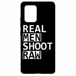 Чохол для Samsung S10 Real Men Shoot RAW