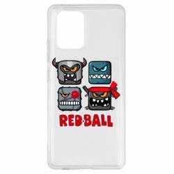 Чохол для Samsung S10 Red ball heroes