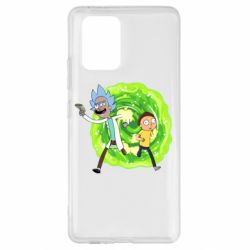 Чохол для Samsung S10 Rick and Morty art